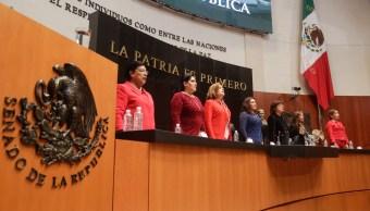Senado conmemora voto de la mujer con sesión solemne