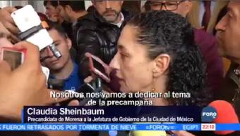 Sheinbaum Registra Precandidata Morena Claudia Gobierno De La Ciudad De México