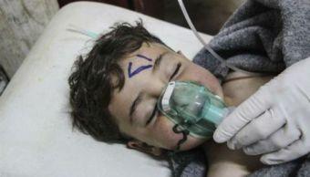 Reino Unido pide sanciones Siria ataque químico