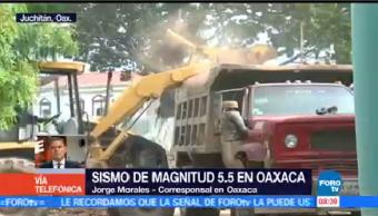 Sismo Magnitud 5.5 Oaxaca Corresponsal