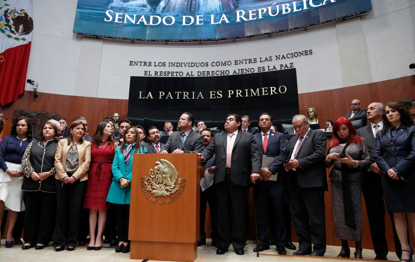 Senado votará mañana por restitución de Santiago Nieto