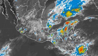 Prevén para próximas horas tormentas intensas en Puebla, Veracruz y Tabasco