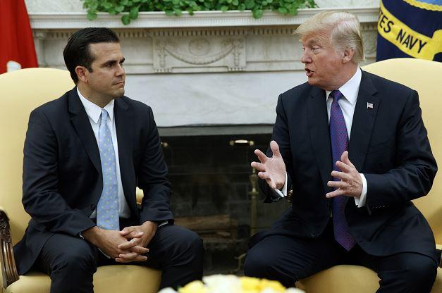 Trump trabajará con Congreso de EU para dar más ayuda a Puerto Rico