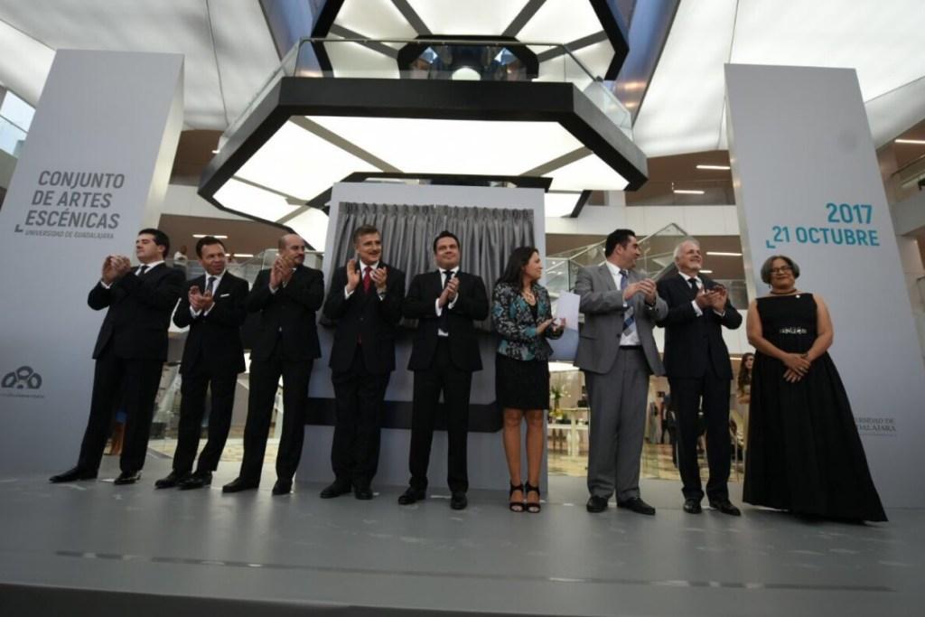 placido domingo inaugura conjunto artes escenicas universidad guadalajara