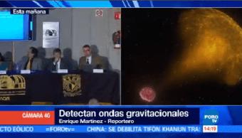 Unam Analiza Ondas Gravitacionales Fusión Dos Estrellas Científicos