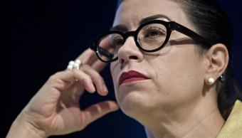 Vanessa Rubio, subsecretaria de Hacienda, destaca la estabilidad financiera del Gobierno