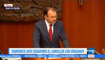 Videgaray México Reconocerá Estado Catalán Cataluña Proclama Independencia