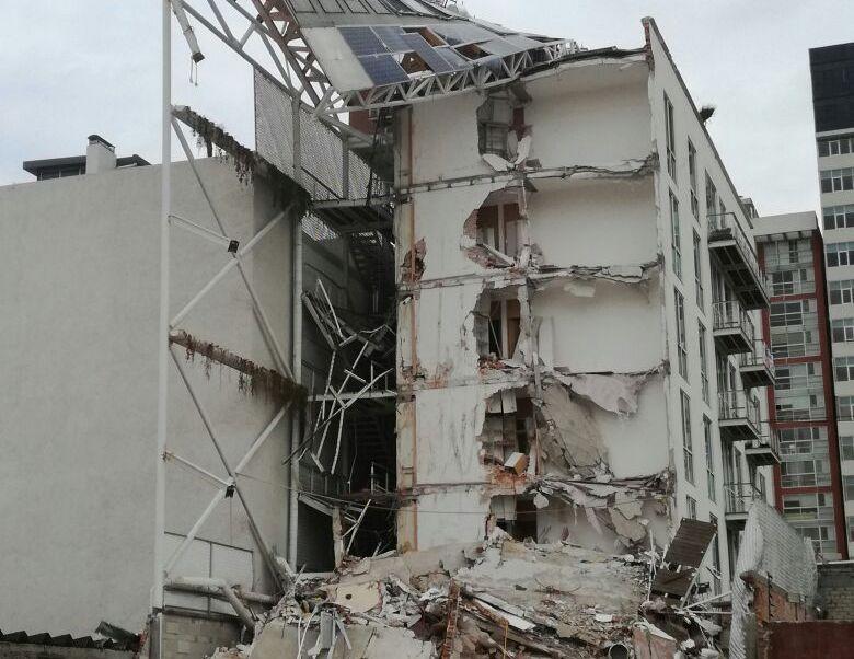 Detienen a responsable de obra de edificio afectado por sismo en CDMX