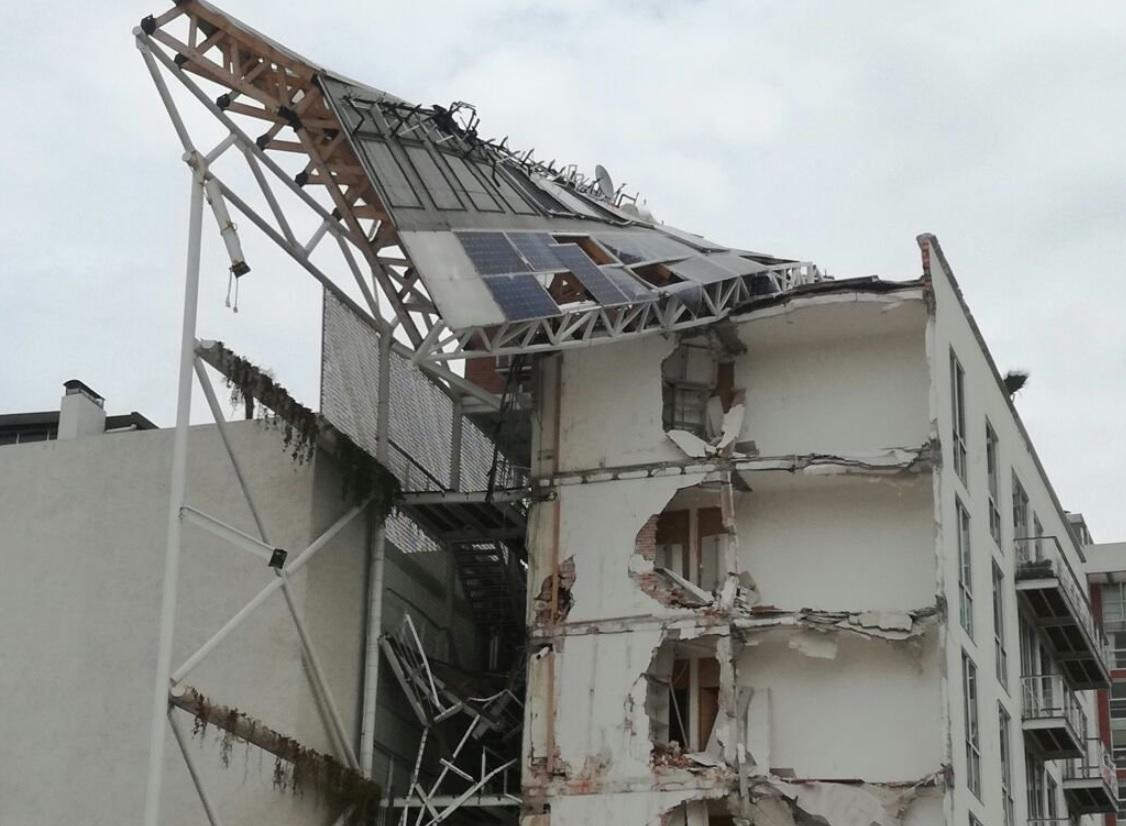 Detienen a responsable del edificio Zapata 56 tras el 19-S