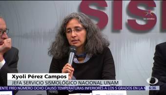 Jefa del Sismológico afirma que se reforzará red de monitoreo sísmico