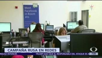 Facebook, Google y Twitter admiten que electores estadounidenses consumieron noticias falsas
