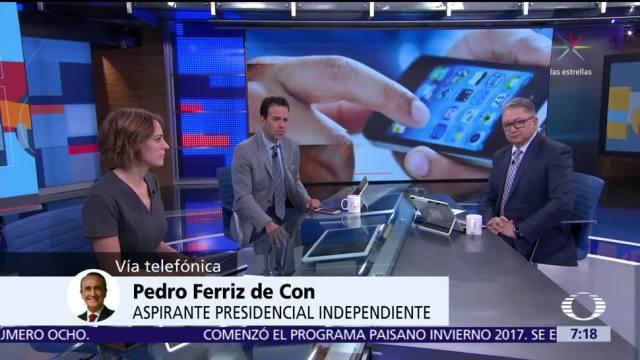 Pedro Ferriz de Con pide hacer pública aplicación del INE para recolectar firmas