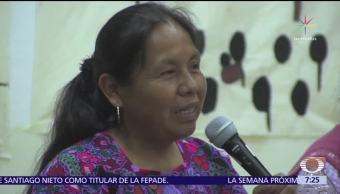 María de Jesús Patricio no dará entrevistas hasta que sea candidata