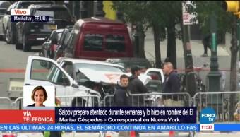Saipov preparó atentado durante semanas