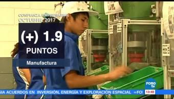 Avanza el Índice de Confianza Empresarial en el sector manufacturero