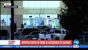 Reportan un muerto y un herido en tiroteo en Colorado