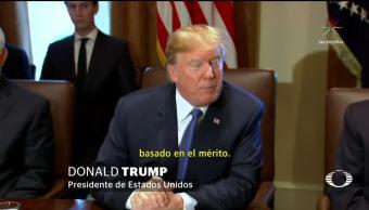 Tras atentado, Trump revive promesa de controlar entrada de migrantes en EU
