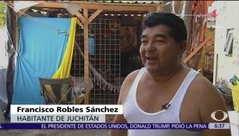 Damnificados del sismo en Juchitán regresan a sus casas