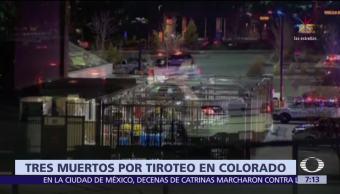 Mueren tres personas por tiroteo en Denver, Colorado