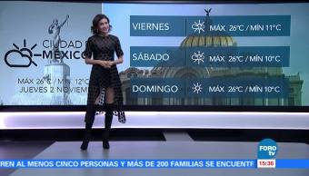 El Clima 'A las Tres' con Daniela Álvarez