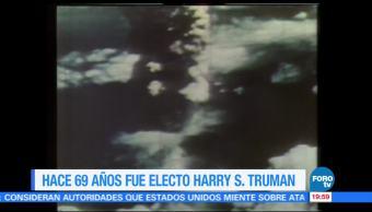 Efeméride En Una Hora: Harry S. Truman, electo para segundo mandato en 1948