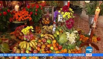 Familias celebran Día de Muertos en Oaxaca