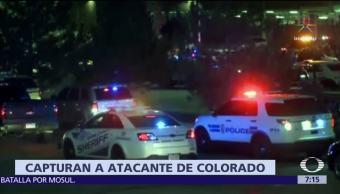 Detienen al autor del tiroteo que dejó 3 muertos en Denver, Colorado
