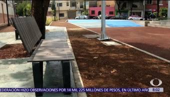 CDMX habilita plaza pública para captar agua de lluvia