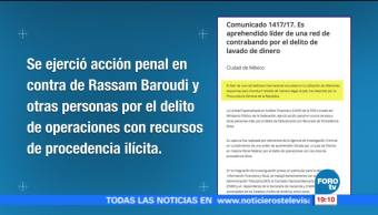 PGR detiene a Alejandro Rassam Baroudi por lavado de dinero
