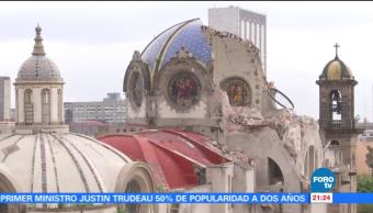 Estudian reconstrucción del templo de Los Ángeles