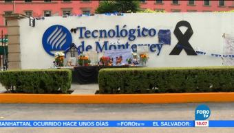 Familias de víctimas del Tec por sismo se inconforman con la institución