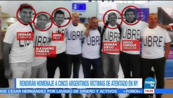 Macri prepara homenaje a argentinos víctimas del atentado en NY