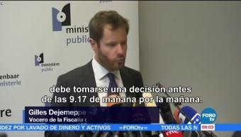Carles Puigdemont se entrega a la justicia en Bruselas