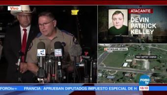 Confirman que el tirador de Texas se suicidó tras huir del lugar