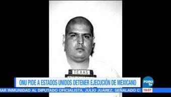 Piden detener ejecución del mexicano Rubén Cárdenas