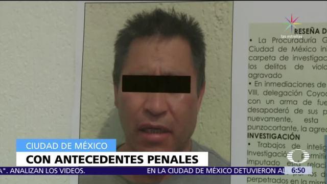 Detienen a un presunto violador serial que agredía a mujeres en Coyoacán