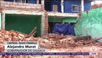 Oaxaca ya entregó las tarjetas destinadas a la reconstrucción, afirma Murat