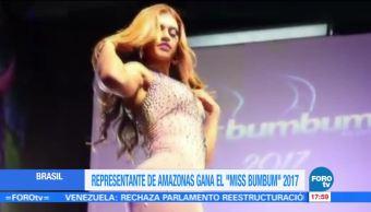 Amazonas gana Mis Bum Bum 2017 en Brasil