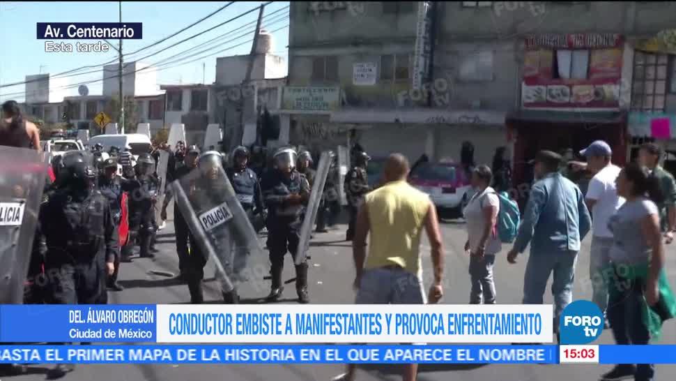 Concluye operativo tras incidente en la Álvaro Obregón