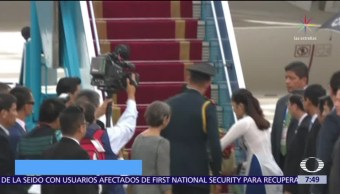 Peña Nieto llega a Vietnam para Cumbre de APEC