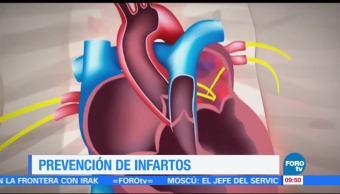 ¿Cómo prevenir los infartos?