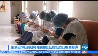 Extra, Extra: Leche materna previene problemas cardiovasculares en bebés