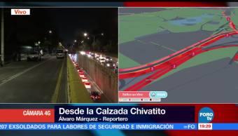 Manifestantes marchan del Ángel a Los Pinos
