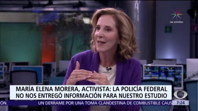 María Elena Morera habla del estudio sobre desempeño de la Policía