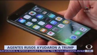 AP: Agentes rusos usaron Twitter para ocultar información escandalosa de Trump