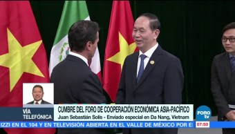 Actividades de Peña Nieto en la Cumbre de Cooperación Económica Asia-Pacífico