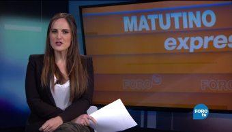 Matutino Express del 10 de noviembre con Esteban Arce (Bloque 2)