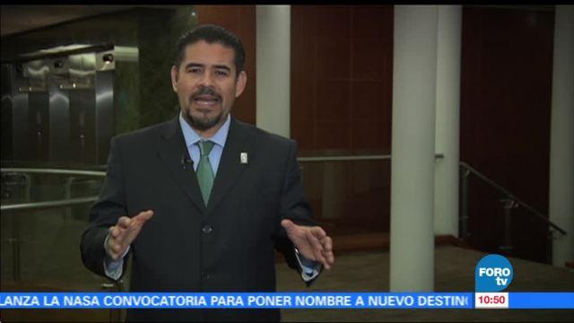 Leonardo García habla de la importancia del desarme nuclear