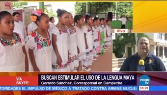 Buscan estimular el uso de la lengua maya en Campeche