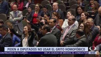 Conapred pide a diputados no usar gritos homofóbicos en el recinto legislativo